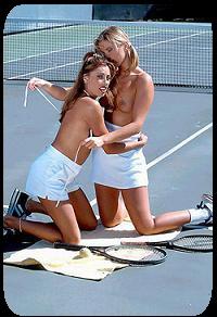 Sexy Tennisspielerin